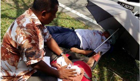 Pemandu Pitam, 4 Murid Cedera Nahas Ke Sekolah