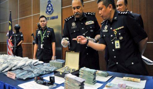 Dadah RM8.5 Juta Didalangi Warga Singapura Tumpas