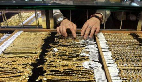 Empat Lelaki Samun Kedai Emas Di Seri Kembangan