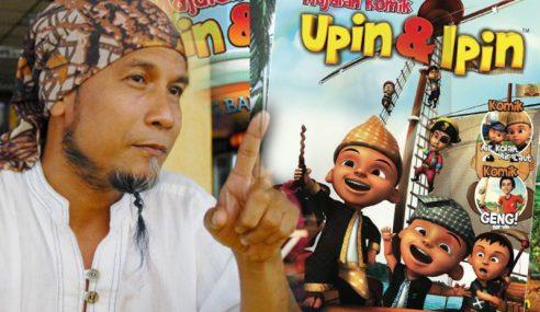 Ujang Dakwa Dianiaya Majalah Upin Ipin
