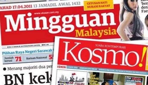 Kosmo! Kekal Akhbar Harian Melayu No.1 Pada 2016