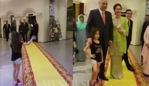 Aksi Peminat Cilik Bertemu Sultan Nazrin Jadi Tular