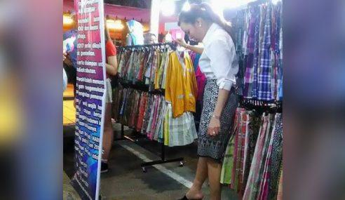 Gelagat Comel Minah Korea Sangka Sampin Itu Skirt