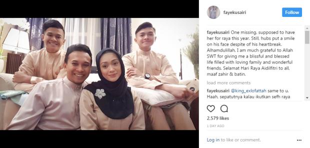 Mahu Jaga Anak, Elly Mazlein Sindir Azmi, Faye Di IG
