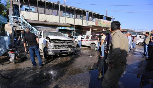 31 Orang Maut, 35 Cedera Letupan Di Iraq