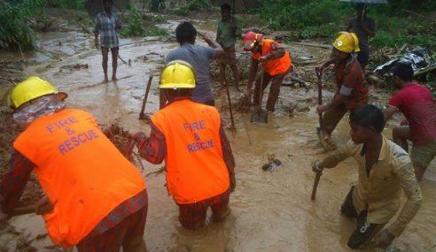 Korban Tanah Runtuh Bangladesh Kini 152 Orang