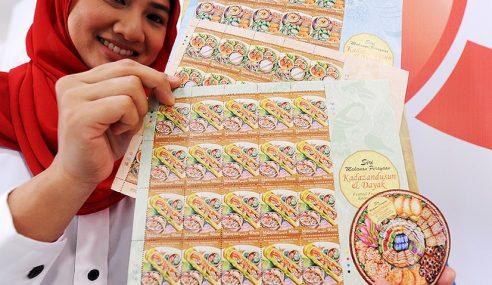 Pos Malaysia Lancar Edisi Ke-3 Setem Festival Makanan
