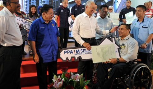 Kerajaan Sedia 200,000 Unit PPA1M Menjelang 2020