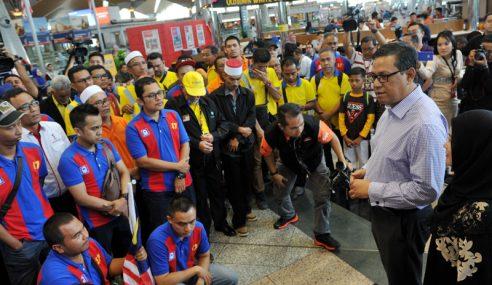 Prasarana Tingkat Tahap Keselamatan Tren MMMSL