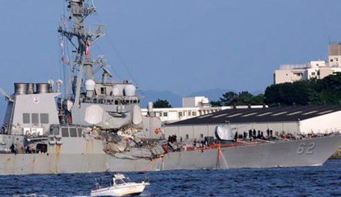 Tujuh Kru Kapal Pemusnah AS Ditemui Mati