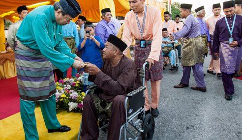 Sumbangan Hari Raya Sultan Selangor Kepada Asnaf
