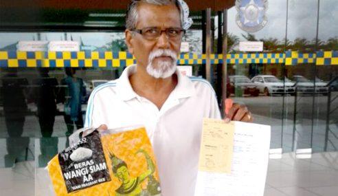 Pembeli Dakwa Pasar Raya Terkenal Jual Beras Tiruan