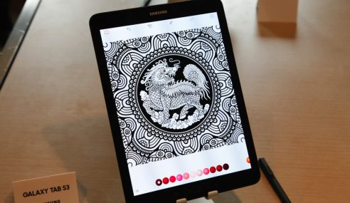 Tablet Premium Samsung Galaxy Tab S3 Terbaru