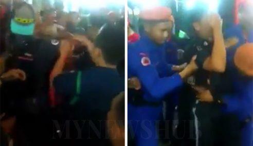 Video: Petugas DBKL Diserang Penyembur Lada