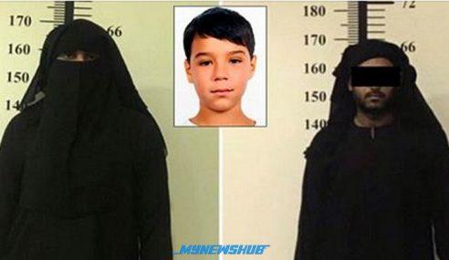 Lelaki Berhijab Pujuk Budak Sebelum Rogol, Bunuh