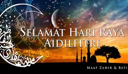 Umat Islam Di Malaysia Sambut Aidilfitri 25 Jun