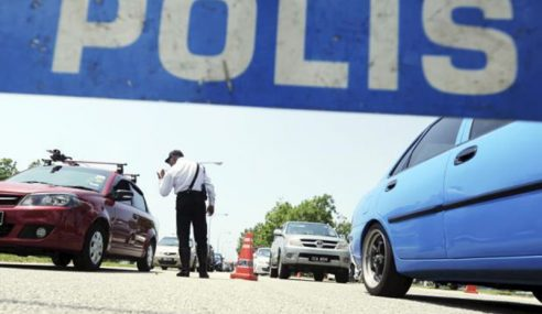 Polis Buru Pemandu Perodua Viva Langgar Lari