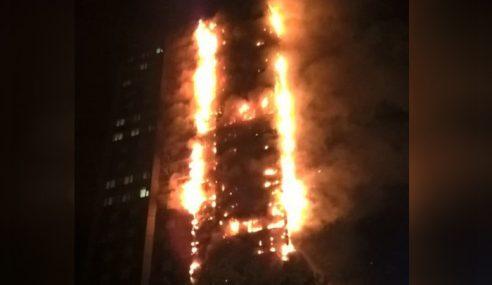 Kebakaran Apartmen Cetus Panik Di London