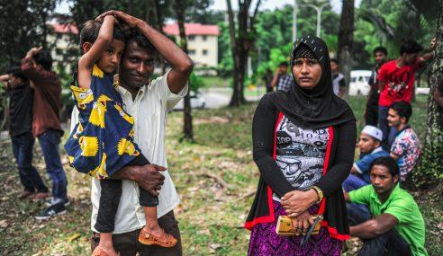 Belia 4B Bantu Kaum Rohingya Kampung Pandan