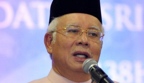 Najib Ucap Takziah Kepada Keluarga ADUN Lenggeng