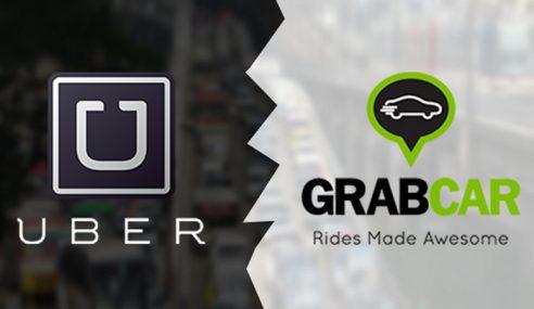 Pindaan Akta Kawal Selia Uber, Grab Dibentang Julai