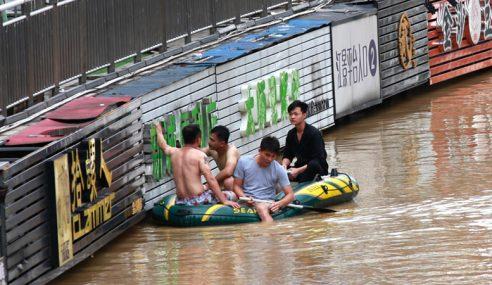 56 Terbunuh, 22 Hilang Akibat Hujan Lebat Di China