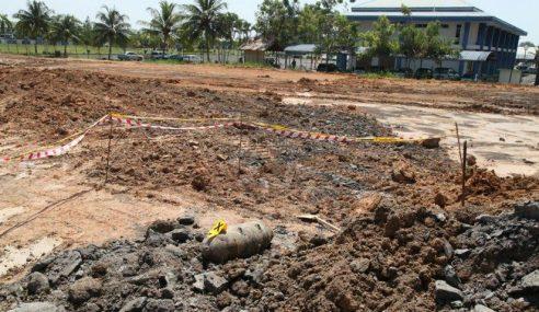Sebutir Bom Lama Ditemukan Di Tapak Binaan