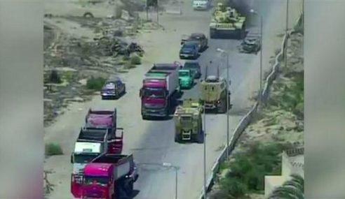 Tindakan 'Berani' Tentera Mesir Rempuh Pengebom