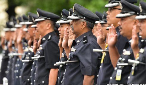 PDRM Umum Pertukaran 4 Lagi Pegawai Kanan