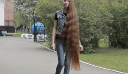`Rapunzel' Punya Ramai Peminat Kerana Rambut
