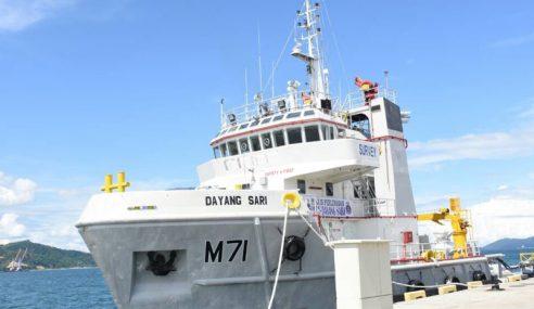 MV DayangSari Mampu Ukur Kedalaman Laut