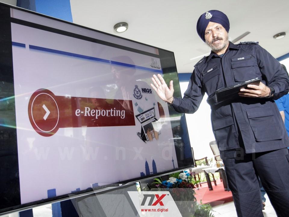 PDRM Cadang Perluas Penggunaan Sistem E-Reporting