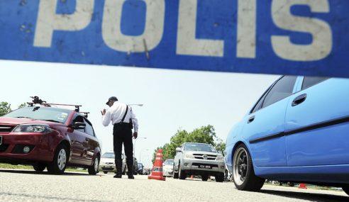 6,000 Polis Trafik Kawal Laluan Utama Seluruh Negara