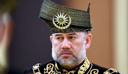 Agong Berangkat Ke Mesyuarat Majlis Raja-Raja
