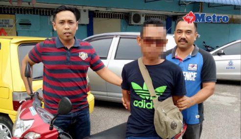 Upload Gambar Motor Curi, Penganggur Dicekup Polis
