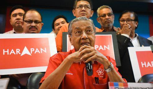 Pakatan Harapan Tidak Didominasi Kaum Melayu