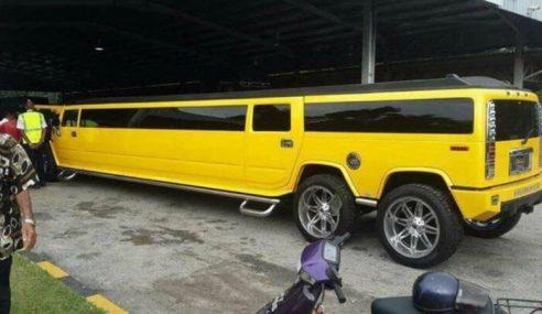 Khabar Angin Limousin Ini 'Kereta Kahwin' Puteri Johor