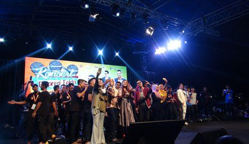 Konsert Ekspresi Felda Meriah Meletop!!!