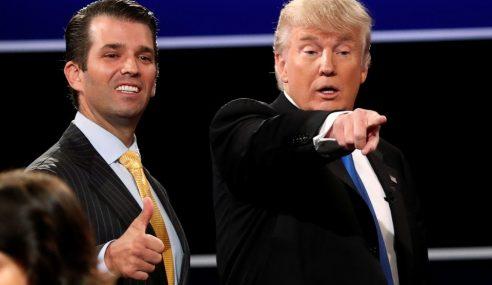 Donald Trump Tetap Pertahan Anak, Bidas Media