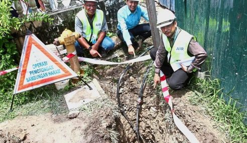 SPAN Kesan Kes Curi Air Libat Kerugian RM221,482