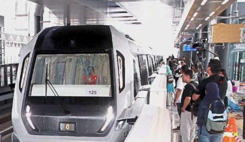 MRT Perlu Capai 250,000 Penumpang Sehari