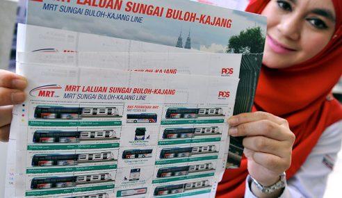 Pos Malaysia Lancar Siri Setem Khas MRT
