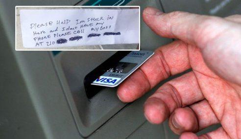 Tolong, Saya Terperangkap Di Dalam ATM Ini!