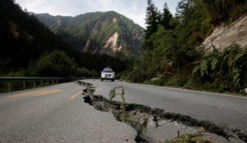 Hujan Lebat Buruk Lagi Keadaan Di Jiuzhaigou