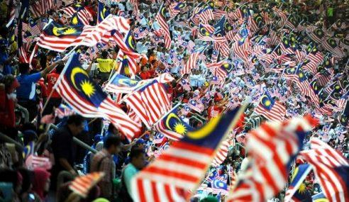Salleh Ajak Rakyat Kibar Jalur Gemilang, Pamer Patriotisme