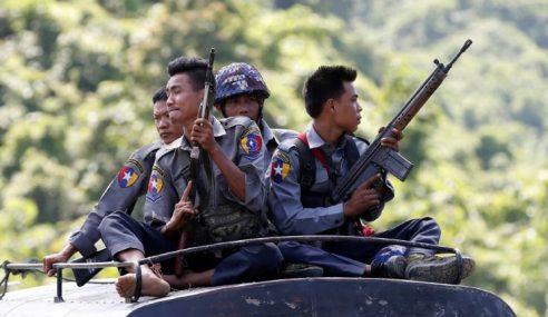 Tentera Myanmar Terus Hapus Rohingya