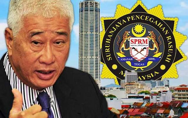 Kilang Haram: SPRM Serbu Pejabat Exco P.Pinang