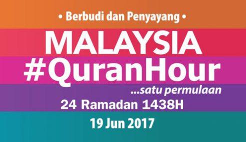 Media Quran Hour Cetus Momentum Luar Biasa