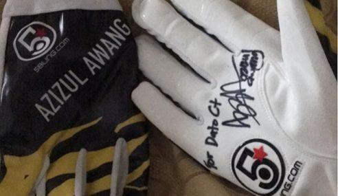Siti Nurhaliza Teruja, Tidur Dengan 'Glove' Azizulhasni