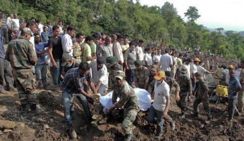 45 Maut Akibat Tanah Runtuh Di India